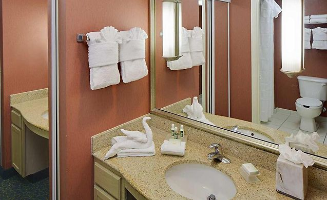 Homewood Suites By Hilton OrlandoNearest To Univ Studios Orlando FL - Nearest bathroom